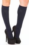 Knee Socks Diamond Texture