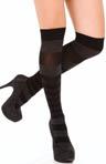 Pattern Stripe Knee Socks