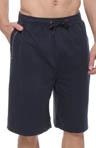 Slub Terry Drawstring Jam Shorts