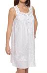 Beautiful Heart Sleeveless Short Nightgown