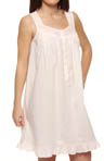 Visions of Spring Sleeveless Short Nightgown