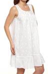 Breaking Waves Sleeveless Short Nightgown