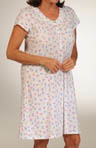 Dreams of the Coast Cap Sleeve Nightshirt Gown