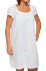 Misty Morning Cap Sleeve Short Nightgown