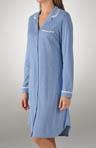 Sweet Dreams Notch Collar Nightshirt