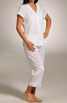 Crystal Clear Bay Capri Pant PJ Set