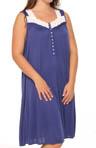 Royal Beauty Plus Size Sleeveless Nightgown