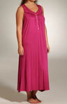 Bolinas Beauty Plus Size Sleeveless Gown