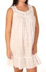 Lyrical Cove Plus Size Short Sleeveless Nightgown