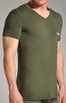 Pima Cotton V-Neck T-Shirt