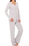 Surprise Cotton and Lace Pajama Set
