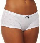 Eagle Design Jacquard Cotton Culotte Panty 2 Pack