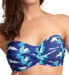 Cancun Underwire Twist Bandeau Bikini Swim Top