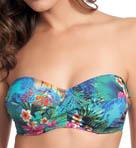 Dominica Underwire Twist Bandeau Bikini Swim Top