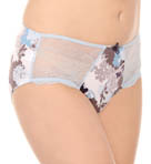 Floral Affair Shadow Boyleg Brief Panty