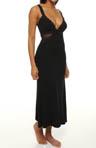 Rozaline Lace Trim Long Gown