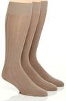 Fashion Basics Solid Rib Socks - 3 Pack