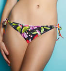 Calypso Reversible Tie Side Brief Swim Bottom