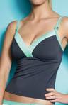 Samba Soft Triangle Tankini Swim Top