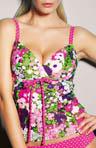 Pier Soft Plunge Tankini Swimwear Top