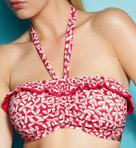 Charleston Underwire Bandeau Bikini Swim Top