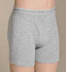 Boys Color and Stripe/Heather Boxer Briefs -3 Pack
