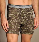 Print/Solid Boxer Briefs - 4 Pack