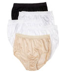 Ladies Nylon Brief  Panty - 5 Pack