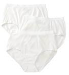 Ladies Fit for Me Cotton Brief Panties - 3 Pack