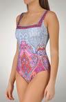Formantera Square Neck 1 Piece Swimsuit