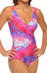 Esthera Surplice One Piece Swimsuit