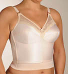 Longline Bra With Stretch Waistband