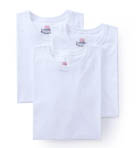 Big Mens Original Cotton Crew T-Shirts - 3 Pack
