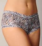 Zebra Boyshort Panty