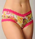 Autumn Floral Lace Boyshort Panty