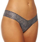 Shimmer Lace Low Rise Thong