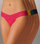 Signature Lace Low Rise Thong Holiday 5-Pack