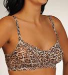 Leopard Nouveau Lace Retro Bralette
