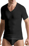 Silk/Modal Blend V-Neck T-Shirt
