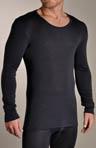 Woolen Silk Long Sleeve Thermal Top