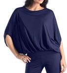 Violet Bat Wing Shirt