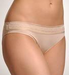 Evita Lace Trim Bikini Panty