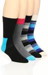 4 Pack Sock Variety Box Set