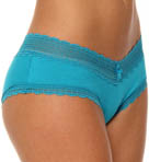 Essential Bliss Rayon & Lace Boy Short Panty
