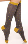 Mini Dot Knee High Socks