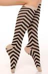 Chevron Knee High Socks