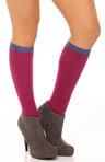 Heart Pointelle Knee High Sock