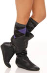 Argyle Knee High Sock