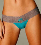 Thong with Lace Band