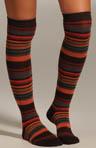Multi Stripe Knee Sock